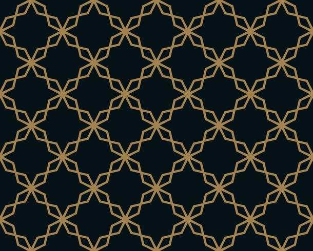 Modèle sans couture avec ornement de ligne. Abstrait géométrique moderne v