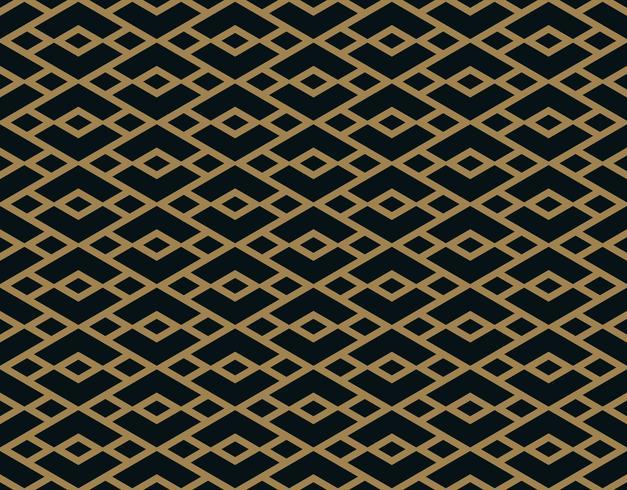 Vector naadloos patroon. Moderne stijlvolle textuur. Geometrisch gestreept ornament.