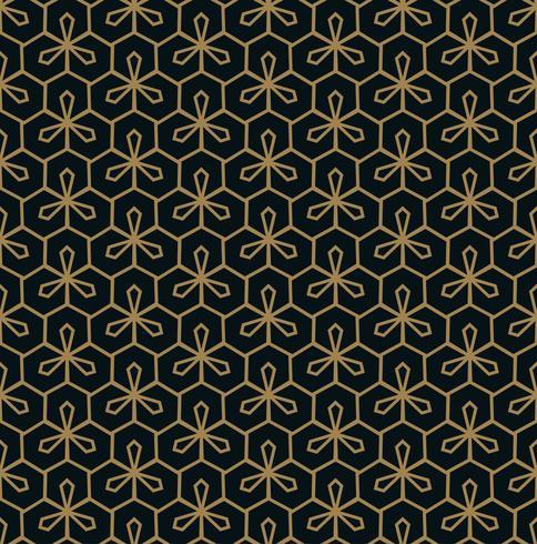 elegante linea ornamento modello seamless per sfondo, w