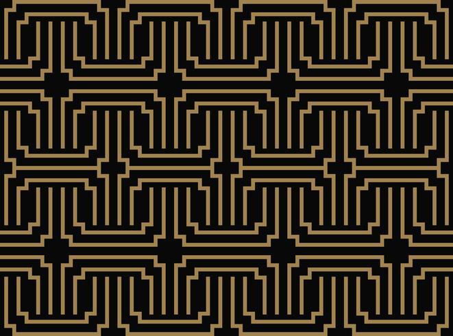 nahtlose geometrisches Muster von Streifen Linie. Nahtloses Vektor-BAC vektor