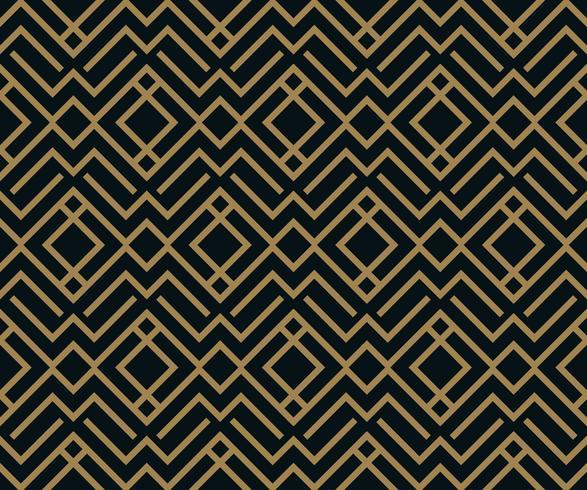 Vector naadloos patroon. Geometrische achtergrond met ruit. abst