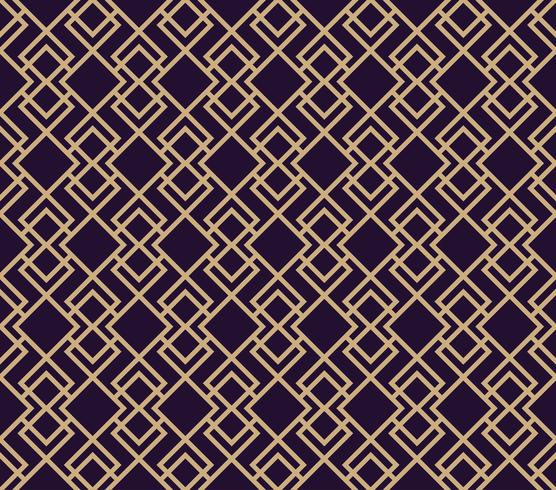 Modèle sans couture de vecteur. Texture élégante moderne. Répéter le fond géométrique. Conception graphique linéaire.