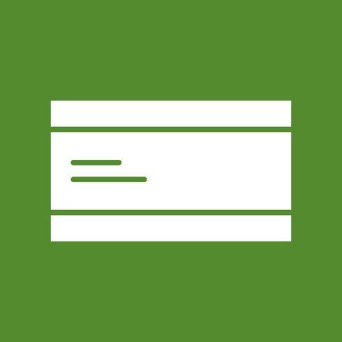 Vektor ATM Kort Ikon