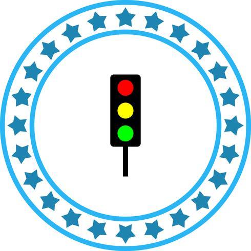 Vector verkeerslichtpictogram
