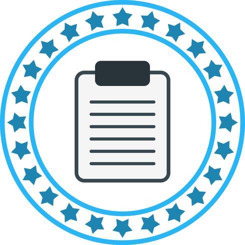 Vector Clip boord pictogram