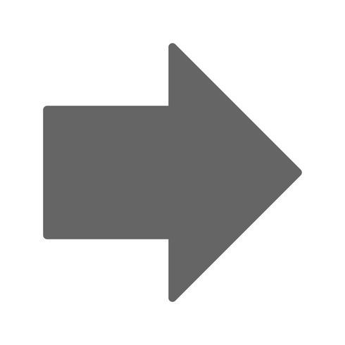 Vector Pijl-rechts naar rechts