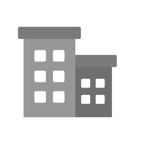 Vector kantoorgebouw pictogram