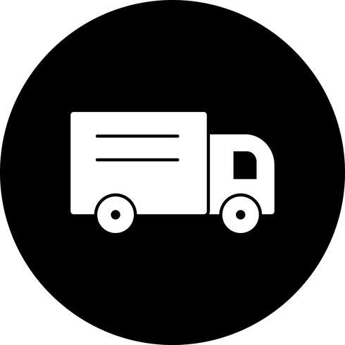 Vector loader vrachtwagen pictogram