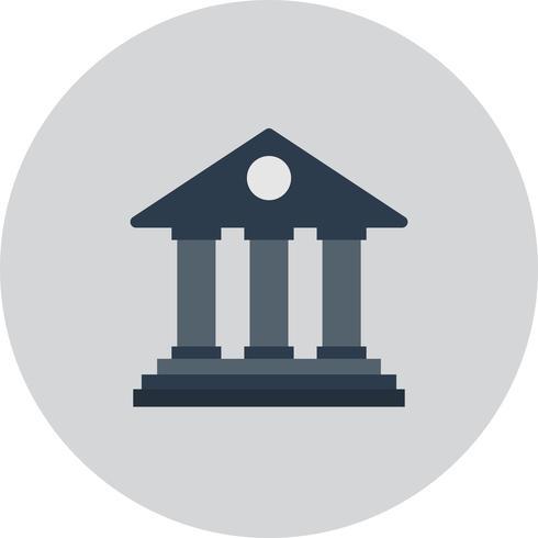 Vector bank pictogram