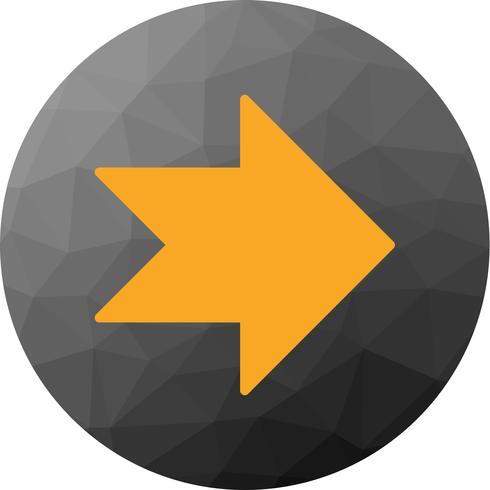 Icona freccia verso destra