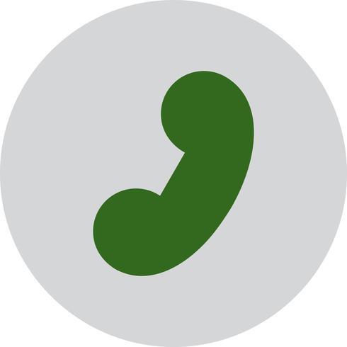 Vector telefoonontvanger pictogram