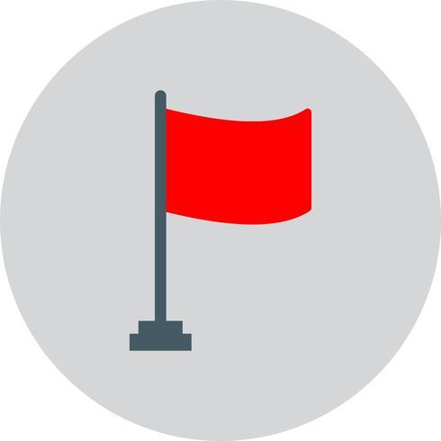 Icono de la bandera del vector