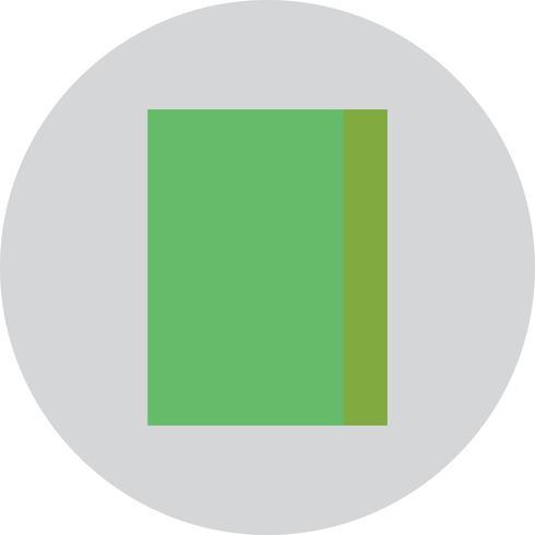 Vector icono de libro