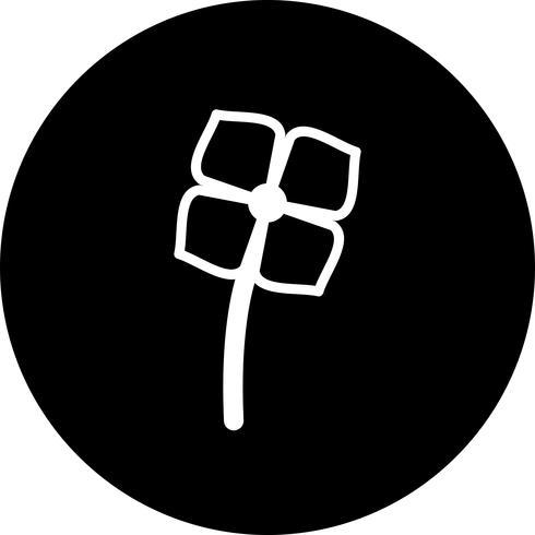 Vektor-Blumen-Ikone