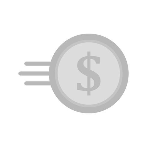 Vector snel munt pictogram