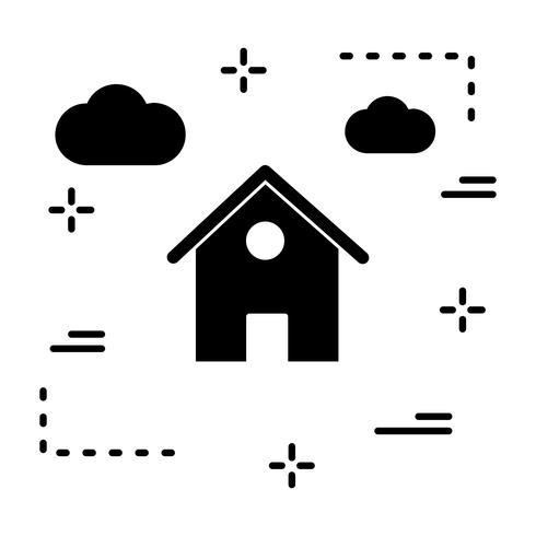 Vector Home-pictogram