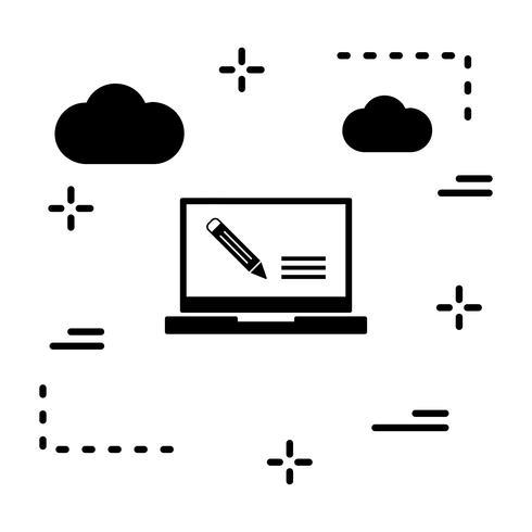 Icono de asignación de vectores