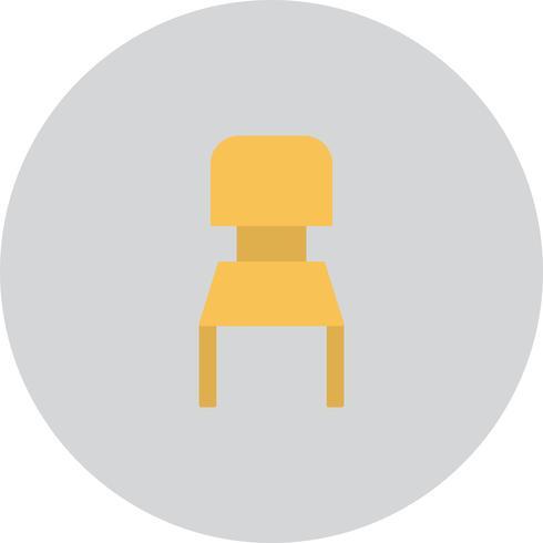 Vector stoel pictogram
