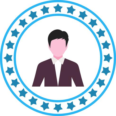 Vector zakenmannen pictogram