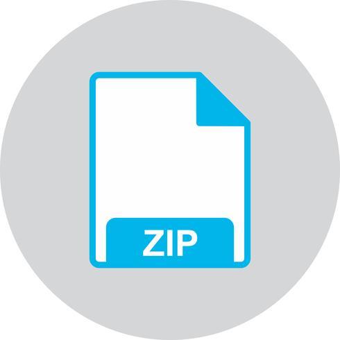 icono zip vector