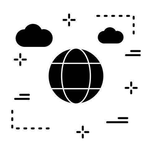 Vector Globe pictogram