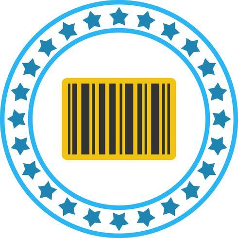 Vector streepjescode pictogram