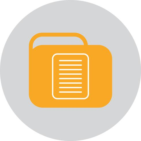 Vector Document Folder Icon
