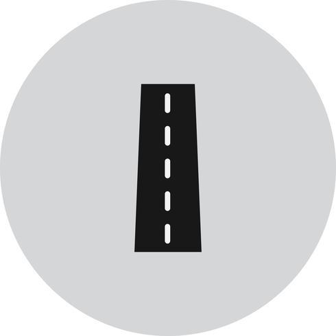 Vector wegpictogram