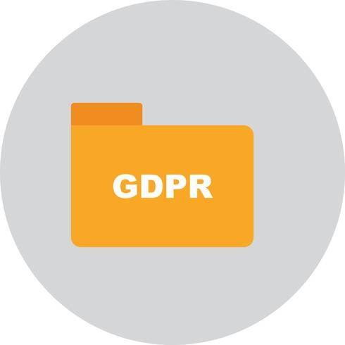 Vector GDPR-mappictogram