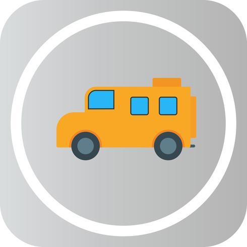 Ícone de ônibus de vetor