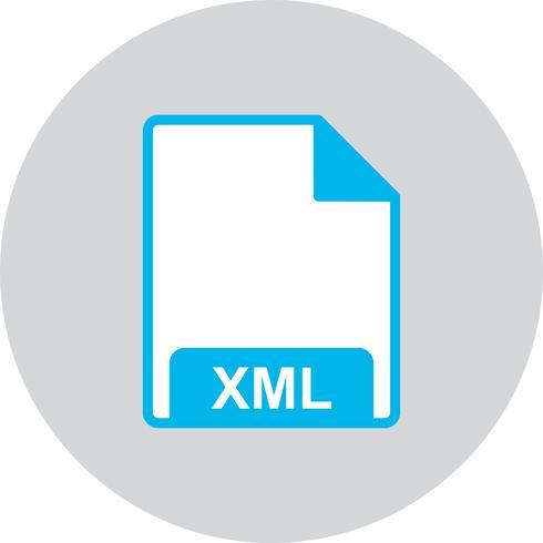 Vektor-XML-Symbol