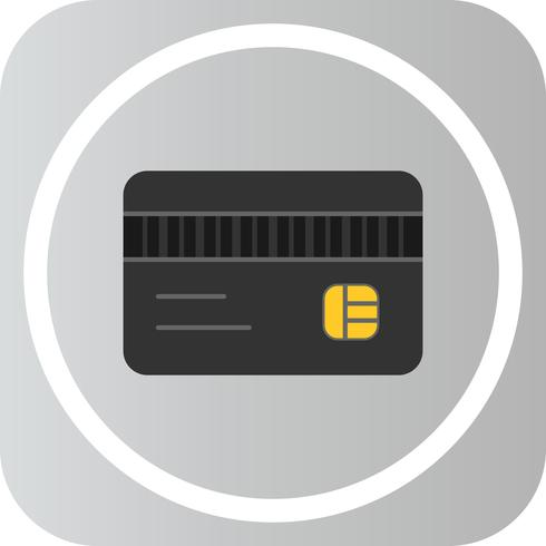 Vector ATM-kaartpictogram