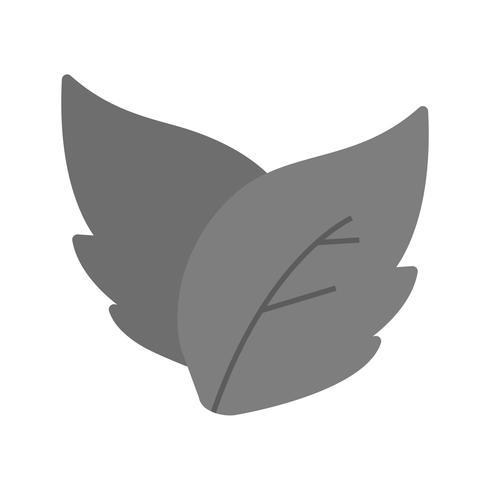 Icône de feuilles de vecteur