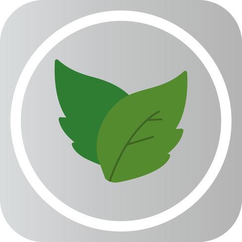 Vector icono de hojas
