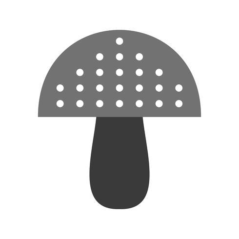Vektor-Pilz-Symbol