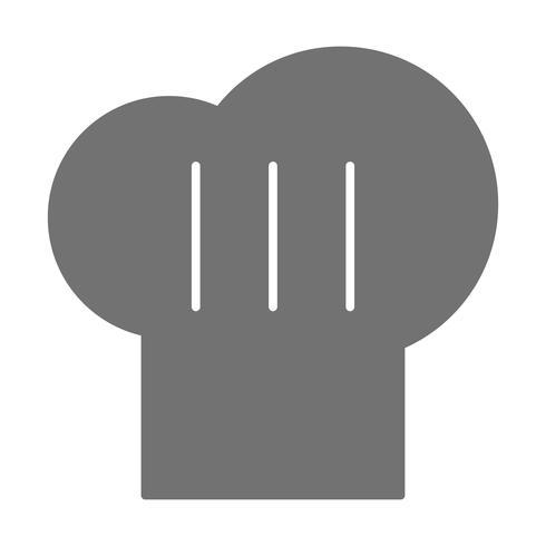 Vector Chef-kok Cap pictogram
