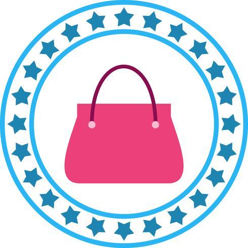 Vektor Lady Bag Icon