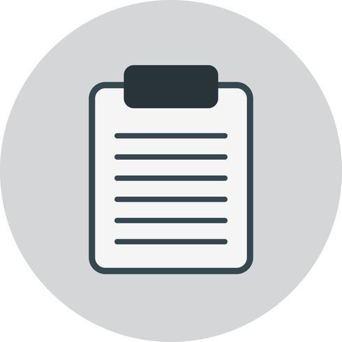 Vektor Clip Board Icon