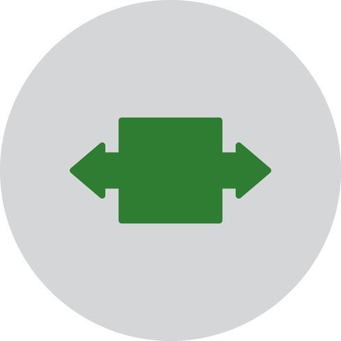 Vector icono de doble flecha