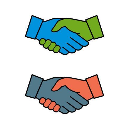 Handshake Logo Template Illustration Design. Vector EPS 10.