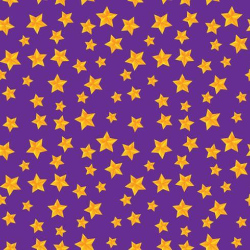 Vector naadloos patroon met gouden sterren