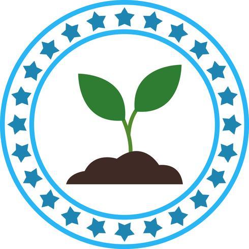 Vektor Jord Planta Ikon
