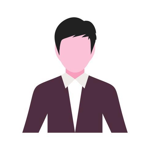 Vector icono de hombres de negocios