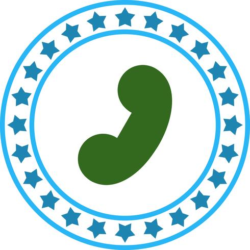 Vector Phone Reciver Icon