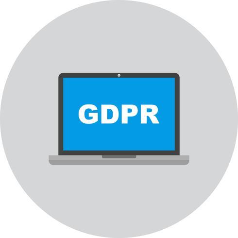 Vektor-GDPR-Symbol