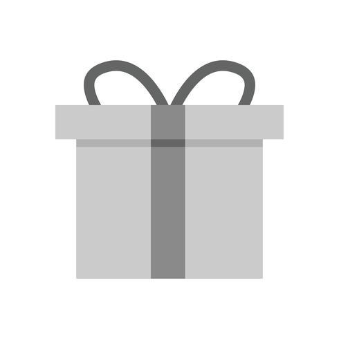 Vector icono de caja de regalo