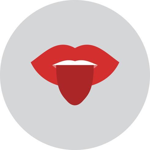 Vector Tongue Icon