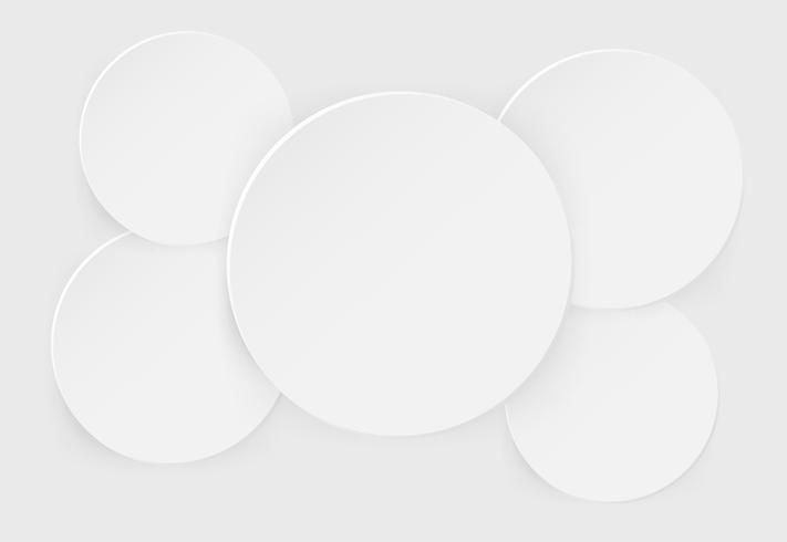 Burbuja de diálogo de papel esférico Bellamente apilada Y una apariencia elegante y realista