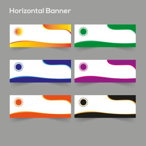Banner Criativo Design vetor