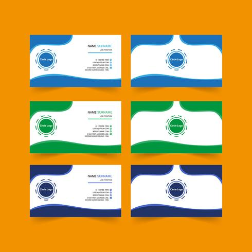 Kreatives Visitenkarten-Design